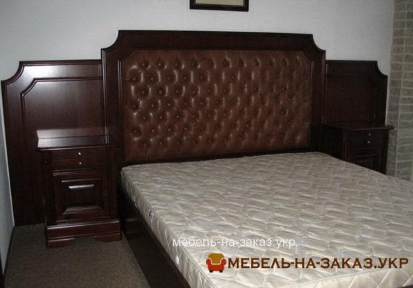 дубовая кровать на заказ