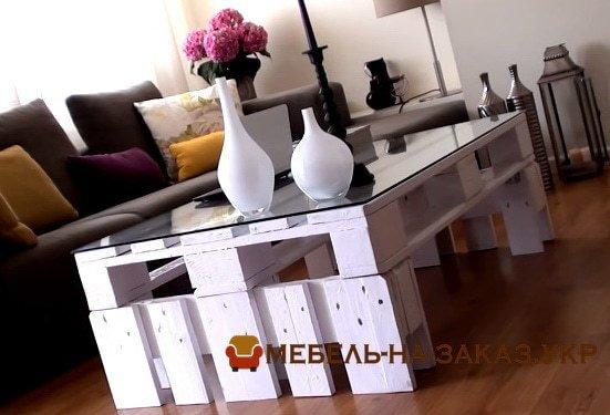 как сделать стол из паллет инструкция