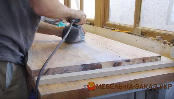 как делается стол со смолой