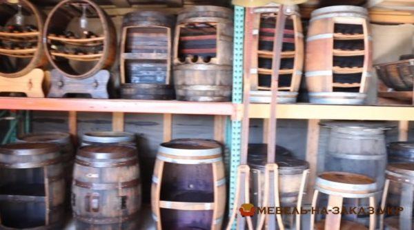 Изделия из бочек деревянных