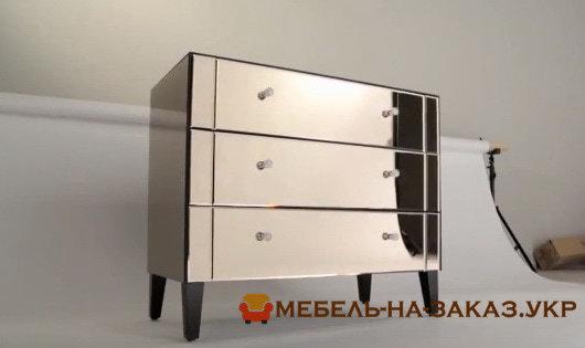 зеркальная корпусная мебель на заказ
