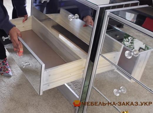 зеркальная мебель на заказ Ворзель