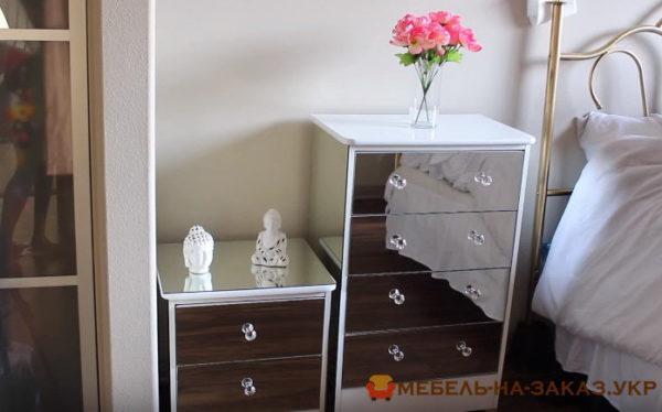 зеркальная мебель на заказ Одесса