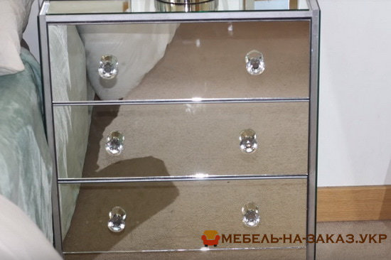 зеркальная мебель на заказ Житомир