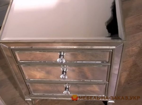 мебель из зеркал на заказ Конча заспа