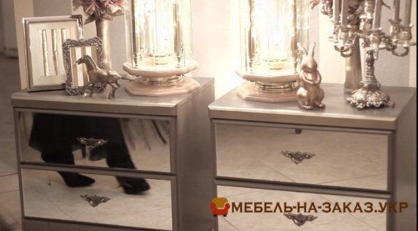 как обновить мебель зеркалами