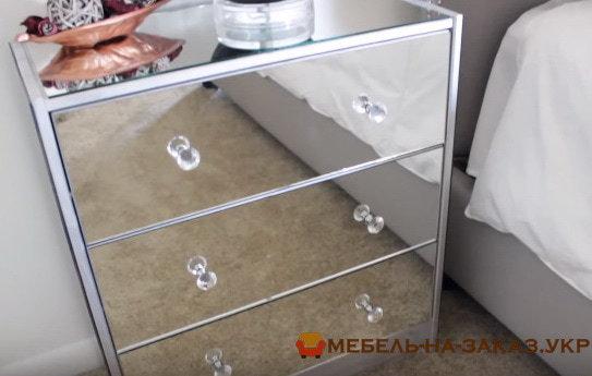 зеркальный комод под заказ