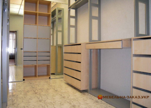 clothes storage room