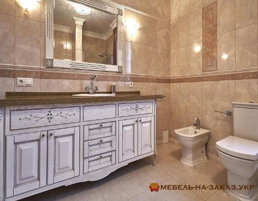 заказать изготовление мебели в туалет