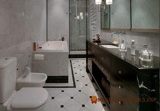 нестандартная мебель в туалет