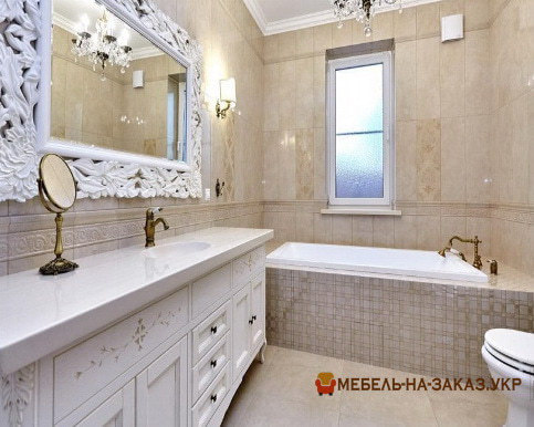 заказная мебельв ванную
