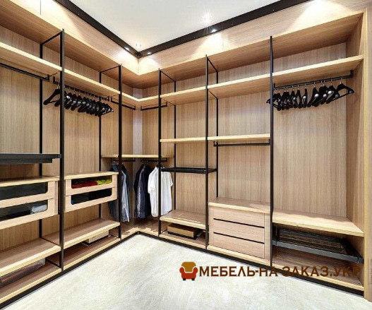 элитная гардеробная комната на заказ