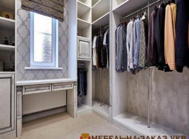 заказная гардеробная под заказ в Киеве