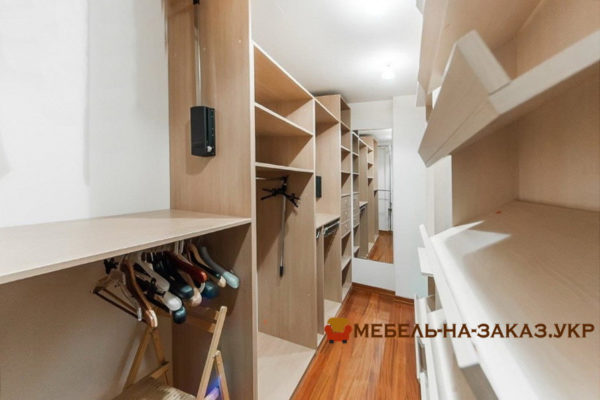 производство мебели для гардероба на заказ