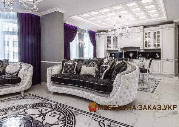 лучший диван прямой для гостиной