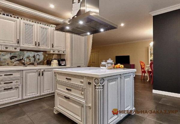 Красивый дизайн мини-кухни под заказ