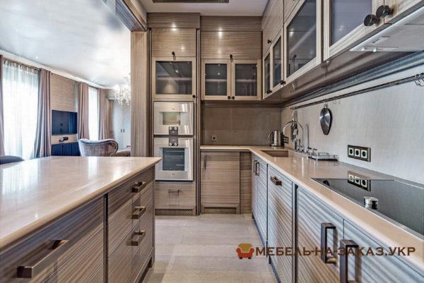 кухонная мебель с кухонным островом от производителя