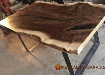 деревянные столы в стиле лофт под заказ в офис дизайн проетк