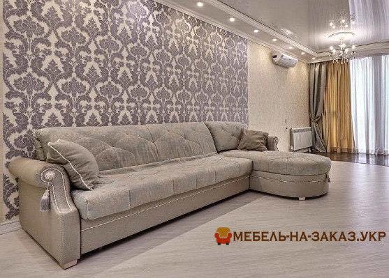 элитная заказная мебель в гостиную Чайкино