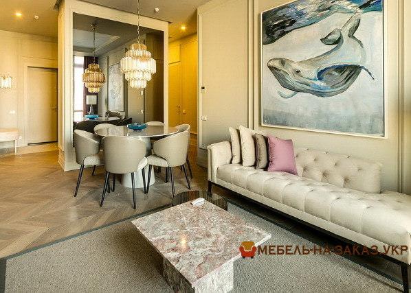 диван со спальным местом в гостиную