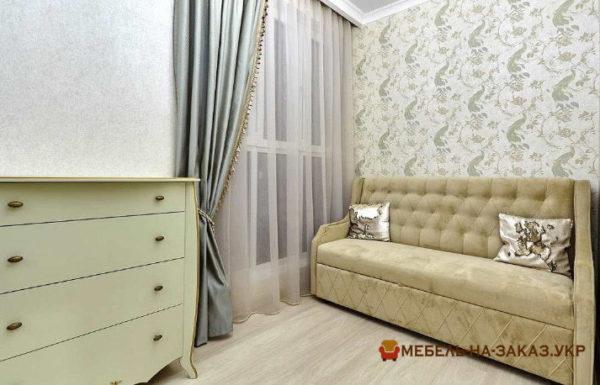 элитный диван со спальным местом в гостиную