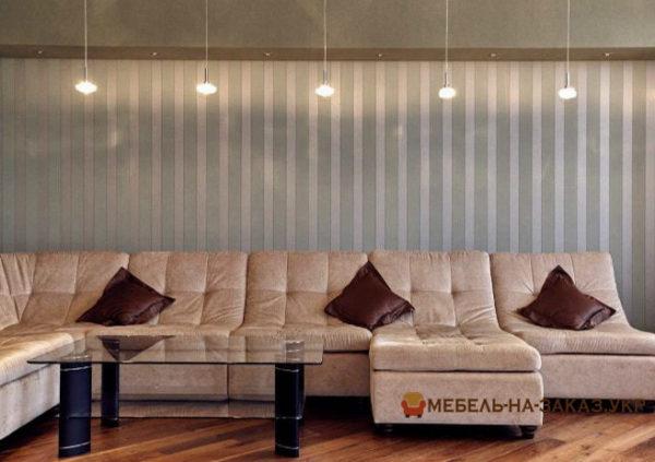 элитный угловой диван в гостиную на заказ в Киеве