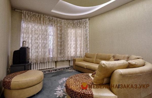 элитный угловой диван в гостиную на заказ Россия