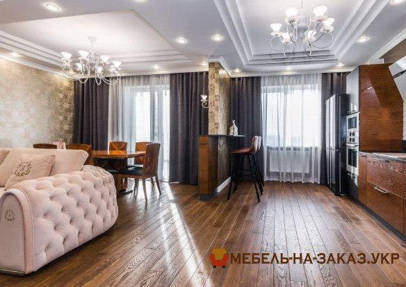 заказать дизайнерский диван для элитной квартиры гостиной