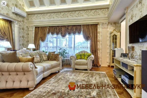 роскошный мягкий диван в гостиную