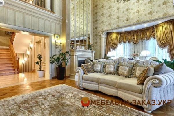 купить роскошный мягкий диван в гостиную