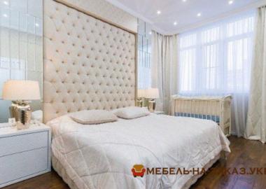 кровать с большим изголовьем под заказ Ирпень