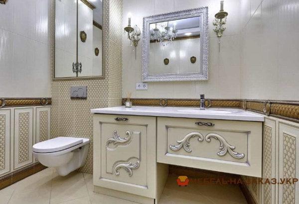 авторская тумба в ванную