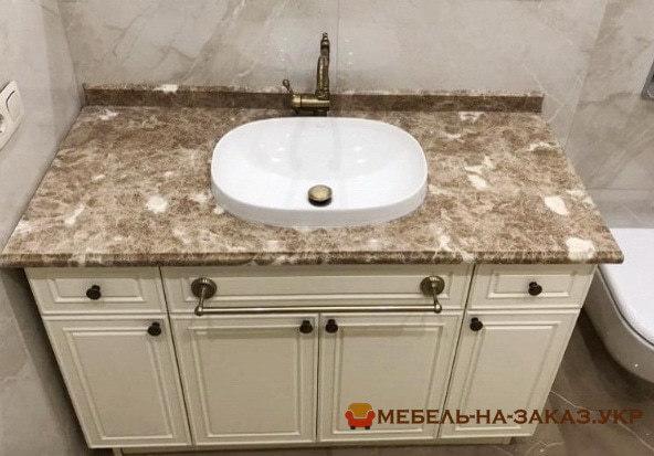 недорогая тумба в ванную под заказ в Киеве