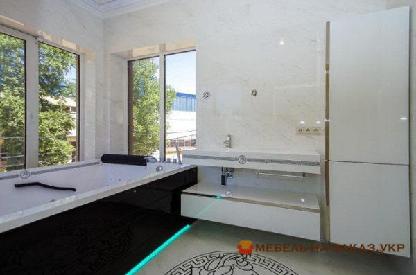 нестандартная мебель для ванной на заказ Киевская область