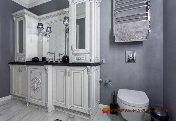 эксклюзивная мебель для ванной на заказ Ирпень