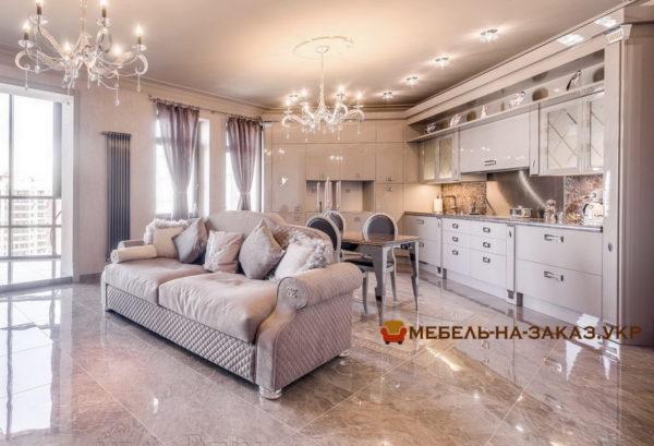 авторский диван в кухню под заказ