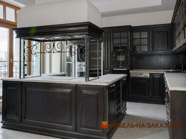 элитная кухня в новый дом на заказ