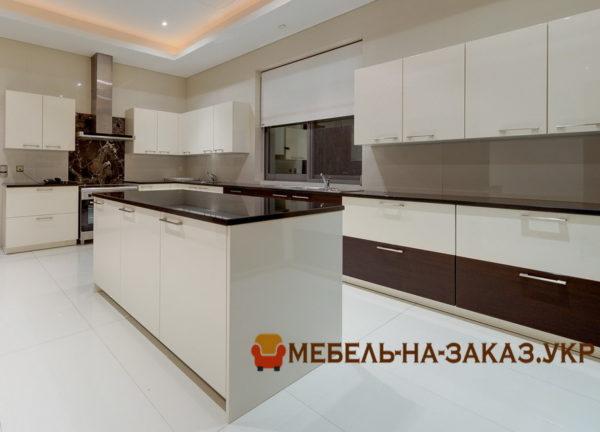 элитная кухня островом под заказ в Киеве