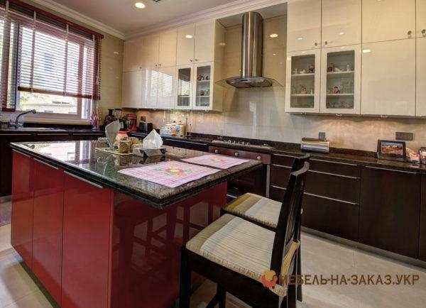 кухни с остовом выбрать дизайн