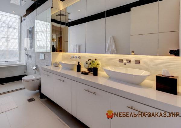 проекты мебели в ванную