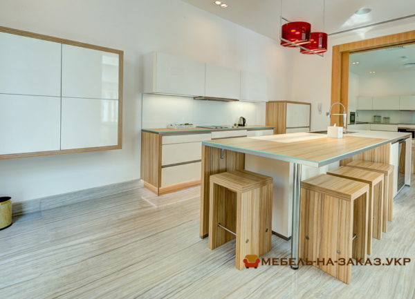 заказать изготовление кухонного острова в Киеве