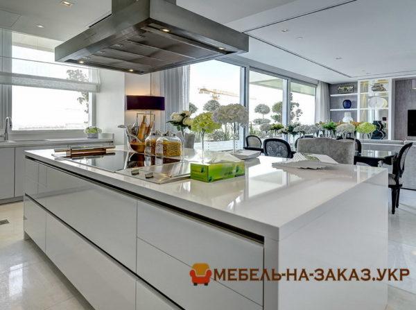 фотографии кухонных островов