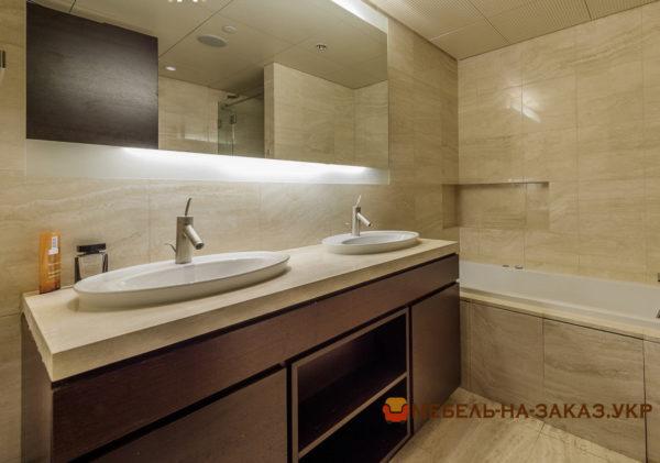 варианты мебели в ванную под заказ Украина