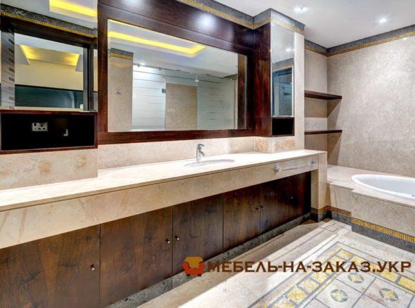 варианты мебели в ванную под заказ Киев
