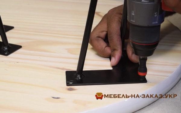изготовление столов из дерева с эпоксидной смолой