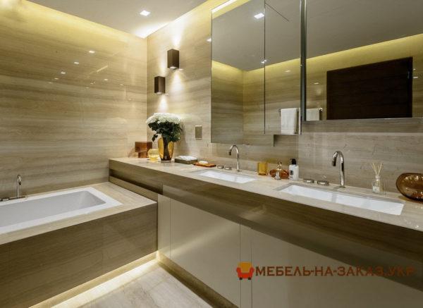 варианты мебели в ванную