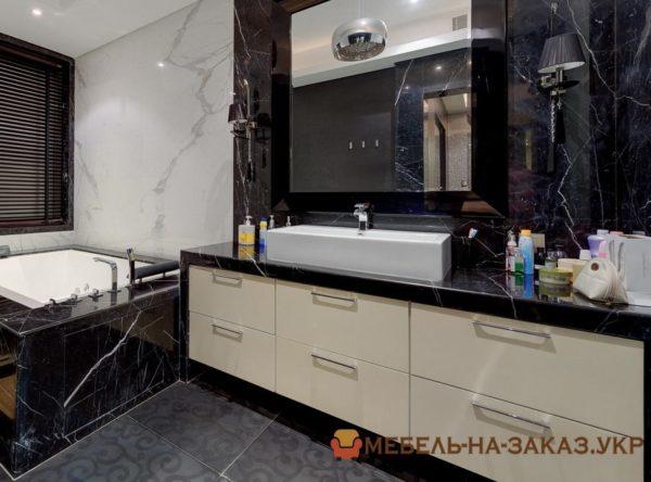 проект мебели в ванную