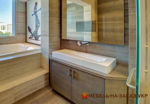 тумба в ванную в элитную квартиру на заказ в Киеве
