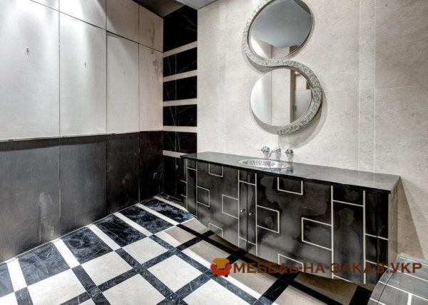 фотографии мебели для ванной для элитной квартиры