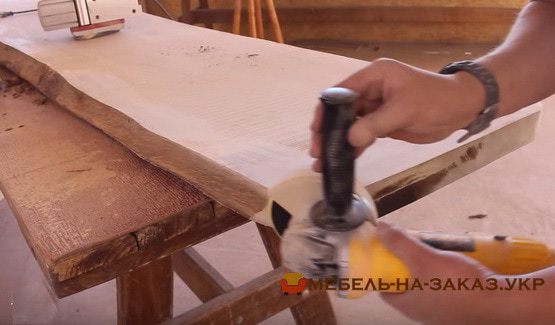 как делают деревянную мебель с Эпоксидной Смолой